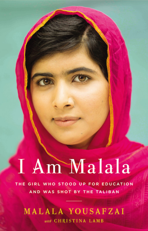 I Am Malala: The Girl Who Stood Up for Education and Was Shot by the Taliban, by Malala Yousafzai and Christina Lamb. Image copyright Hachette Book Group Inc, used under fair use