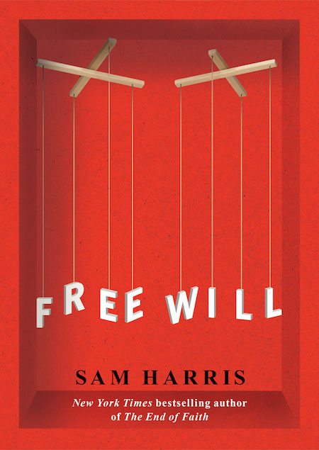 Free Will by Sam Harris. Image copyright Sam Harris, used under fair use