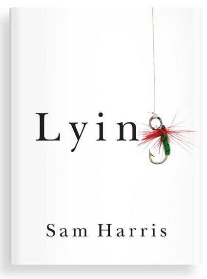 Lying by Sam Harris. Image copyright Sam Harris, used under fair use
