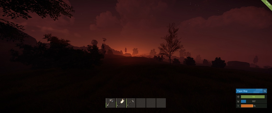 Sunrise in Rust