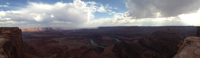 Another Dead Horse Point panorama