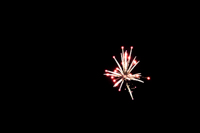 Fourth of July fireworks in Haines, Oregon