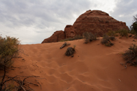 Returning along the Skyline Arch trail, there's more picturesque sand