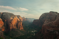 Zion Canyon, looking south from Angels Landing
